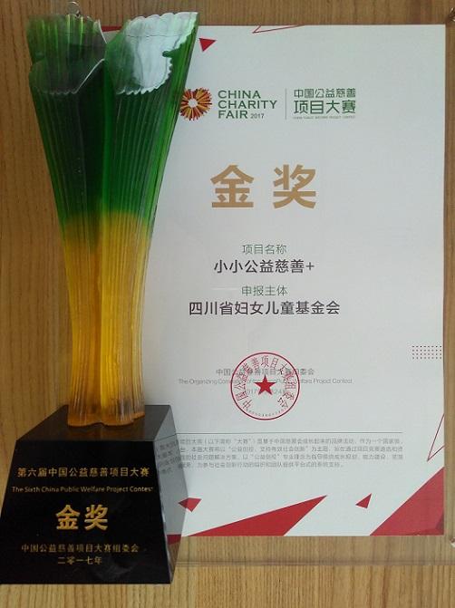 第六届中国公益慈善项目大赛